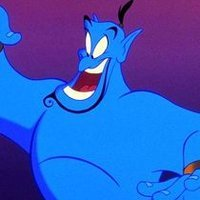 Genie played by Dan Castellaneta