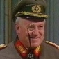 General Leopold von Flockenstuffen played by Ken Morley