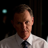 Gil Garcetti played by Bruce Greenwood