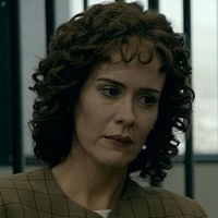 Marcia Clark played by Sarah Paulson