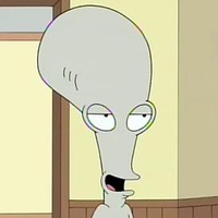 Roger the Alien played by Seth MacFarlane