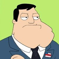 Stan Smith played by Seth MacFarlane