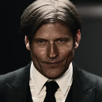 Mr. World played by Crispin Glover