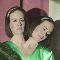 Bette and Dot Tattler played by Sarah Paulson
