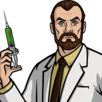 Doctor Krieger played by Lucky Yates