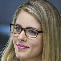 Felicity Smoak played by Emily Bett Rickards