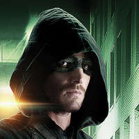 Green Arrow played by Stephen Amell