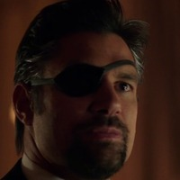 Slade Wilson played by Manu Bennett