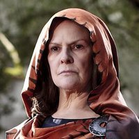 Anysia played by Frances Tomelty