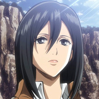 Mikasa Ackerman played by