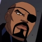 Nick Fury played by Chi McBride