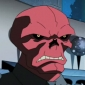 Red Skull played by Liam O'Brien