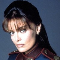 Capt. Elizabeth Lochley played by Tracy Scoggins