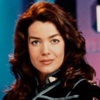 Cmdr. Susan Ivanova played by Claudia Christian
