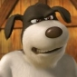 Duke the Dog Back at the Barnyard