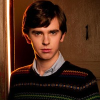 Norman Bates played by Freddie Highmore