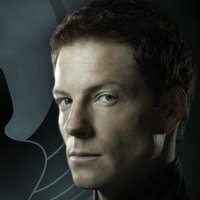 Major Lee 'Apollo' Adama played by Jamie Bamber