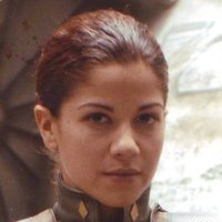 Captain Louanne 'Kat' Katraine played by Luciana Carro