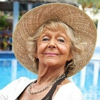 Madge played by Sheila Reid
