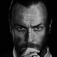 Captain Flint played by Toby Stephens