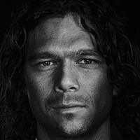 John Silver played by Luke Arnold