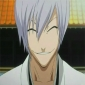 Gin Ichimaru played by Doug Erholtz