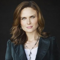 Dr. Temperance 'Bones' Brennan played by Emily Deschanel