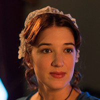 Rosa Lindo played by Amy Louise Wilson