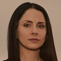 Lydia Rodarte-Quayle played by Laura Fraser