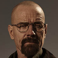 Walter H. White played by Bryan Cranston