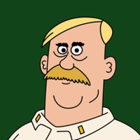 Woody Johnson played by Tom Kenny