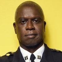 Captain Ray Holt played by Andre Braugher