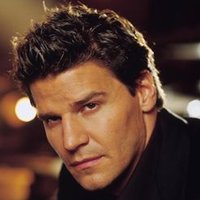 Angel played by David Boreanaz
