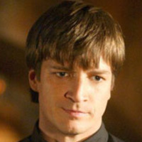 Caleb played by Nathan Fillion