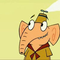 Raj the Elephant Camp Lazlo