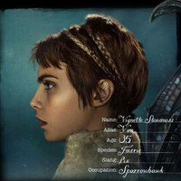 Vignette Stonemoss played by Cara Delevingne