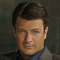 Richard Castle played by Nathan Fillion