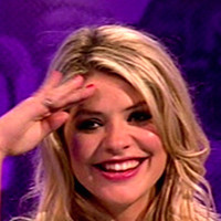 Holly Willoughby played by Holly Willoughby