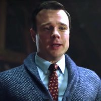 Harry Greenwood played by Rupert Evans