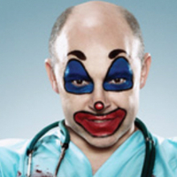 Dr. Blake Downsplayed by Rob Corddry