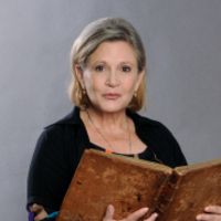 Carrie Fisher played by Carrie Fisher