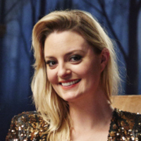 Morgana Robinson played by Morgana Robinson