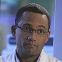 Dr. Sheldon Hawkesplayed by Hill Harper