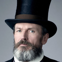 Mr. Dickinson played by Toby Huss
