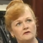 Woman Diner played by Lesley Nicol