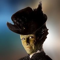Madame Vastra played by Neve McIntosh