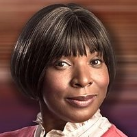 Mrs. Tembe played by Lorna Laidlaw