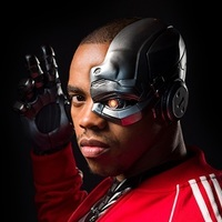 Cyborg played by Joivan Wade