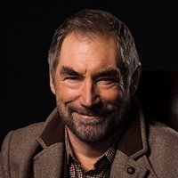 The Chief played by Timothy Dalton