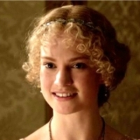 Lady Rose MacClare played by Lily James